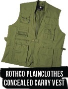 Concealed Carry Rothco Plainclothes Vest