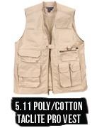 Concealed Carry 5.11 Poly Cotton TacLite Pro Vest